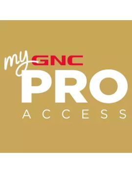 Pro Access Membership by Gnc