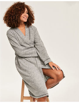 Super Soft Lounge Robe by Figleaves