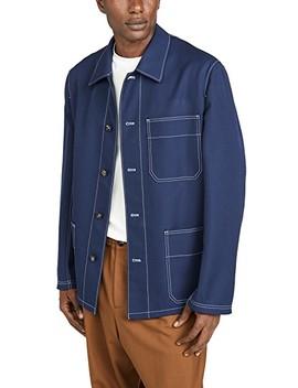Wool Gabardine Work Jacket by Marni