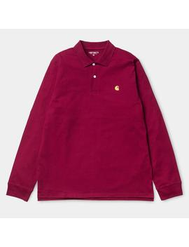 Chase Long Sleeve Polo Shirt by Carhartt Wip