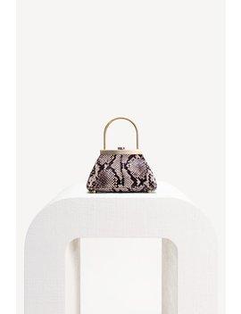 Estelle Mini Bag   Faux Snake by Cult Gaia