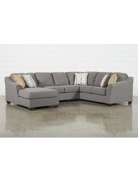 Fenton 3 Piece Sectional With Left Facing Corner Chaise by Living Spaces