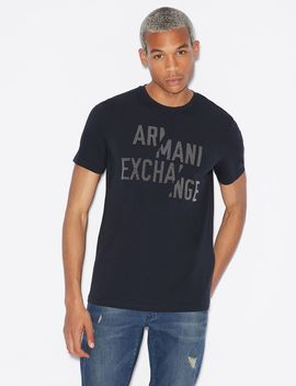 Slim Fit Tee by Armani Exchange