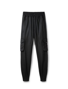 Military Pant Wool   Black by Represent