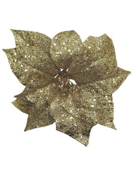 3 X7 Gold Poinsglitter Clip3 X7 Gold Poinsglitter Clip by At Home