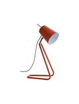 Orange Metal Desk Lamp Orange Metal Desk Lamp by Lizzie                         Lizzie