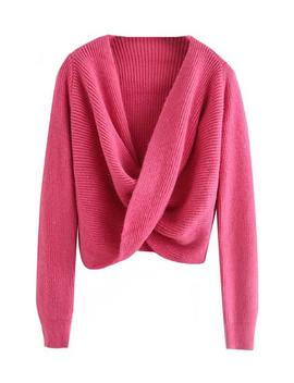 'haku' Twisted Front Sweater (4 Colors) by Goodnight Macaroon