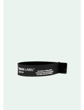 Label Bracelet by Off White