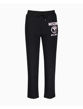 Scribble Relaxed Jog Bottom by Moschino