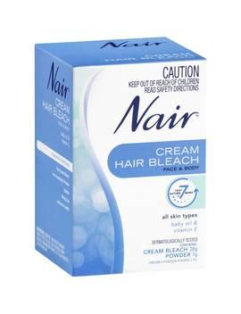 Nair Hair Removal Cream Bleach Face & Body 28g by Woolworths