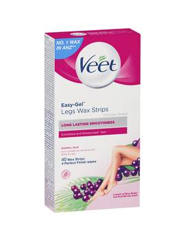 Veet Cold Hair Removal Wax Strips 40 Pack by Woolworths
