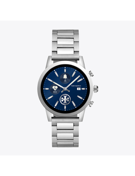 Gigi Smartwatch, Stainless Steel, 40 Mm by Tory Burch