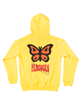 Give Me Butterflies Hoodie by Petals And Peacocks