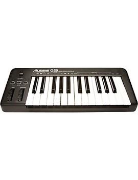 Q25 25 Key Keyboard Midi Controller by Alesis