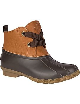 Women's Saltwater 2 Eye Leather Duck Boot by Sperry