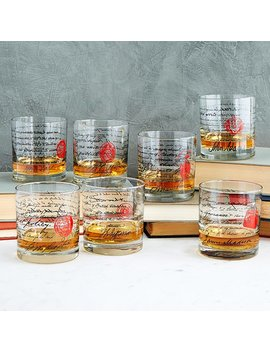 Founding Fathers Whiskey Glasses by Uncommon Goods