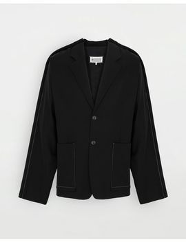 Oversized Wool Blazer by Maison Margiela