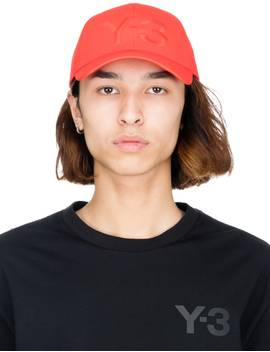 Logo Cap   Red by Y 3
