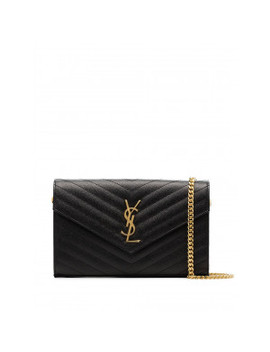 Monogram Chained Wallet by Saint Laurent