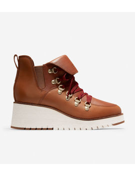 ZerØgrand Wedge Hiker Boot (65mm) by Cole Haan