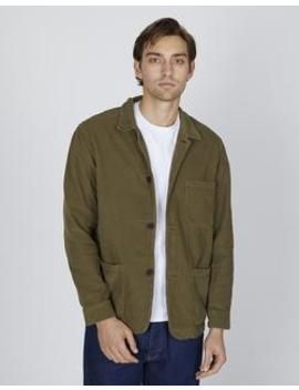 Labura Cord Overshirt Olive by Portuguese Flannel