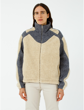 Ercan Two Tone Fleece Jacket by Gmb H