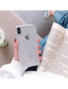 Preferred Moon Glitter Clear Case I Phone 11 Pro Max 6 6 S 7 8 Plus X Max Xr Soft Tpu Simple Slim Phone Case by Shopee