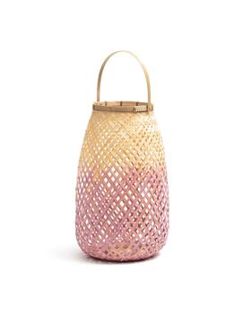 Cordo Bamboo Candle Lantern by La Redoute Interieurs