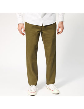 A.P.C. Men's Pantalon Quake Trousers   Khaki by A.P.C.