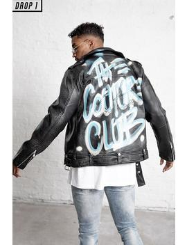 Couture X Boogi Ltd Edition Leather Jacket by Couture Club