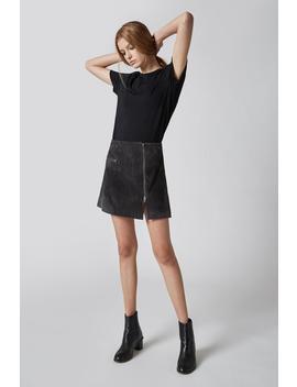 Dark & Stormy Skirt by Blank Nyc