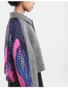 Flamingo Tweed Coat by Maison Margiela