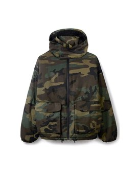 Bubble Jacket   Camo by Represent