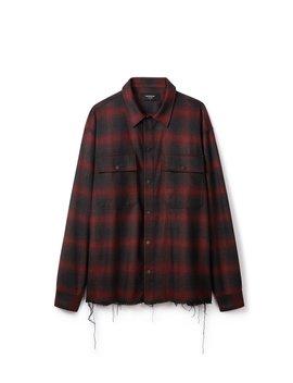 Plaid Shirt   Red/Black by Represent
