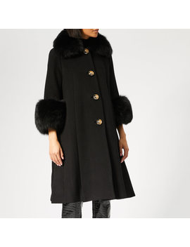 Saks Potts Women's Yvonne Coat   Black by Saks Potts