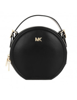 Delaney Medium Canteen Messenger Bag Black by Michael Kors
