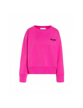 Cotton Sweatshirt With Logo by Moschino