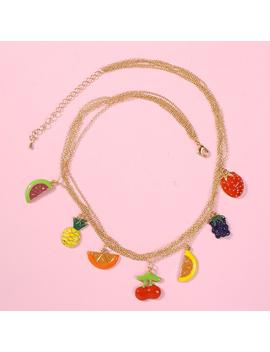 Multi Layer Fruit Necklace by Dog Dog