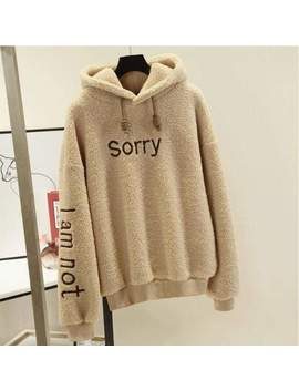 Sorry Hoodie by Dog Dog