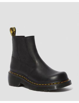 Oates Leather Heeled Chelsea Boots by Dr. Martens