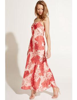 Tropical Slip Dress by Bardot