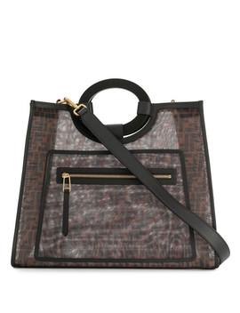 Runaway Ff Shopping Handbag by Fendi