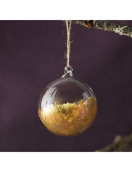 Dipped Globe Leaf Ornament by Terrain
