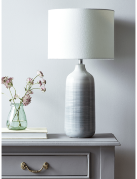 Grey Ombre Table Lamp by Cox & Cox