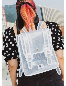 Daisy Backpack (Clear) by Valfre