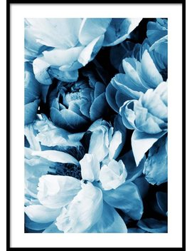 Blue Peony No2 Poster by Desenio