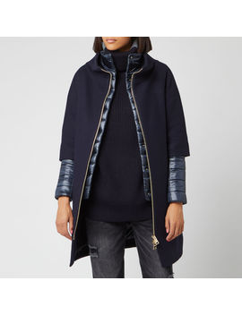 Herno Women's Layered Jacket   Navy by Herno