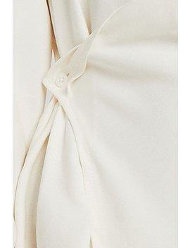 Charlotte Wrap Shirt Dress by Storets