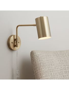 carla-polished-brass-down-light-swing-arm-wall-lamp by lamps-plus