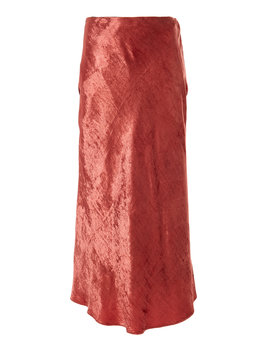 periwinkle-velvet-midi-skirt by brock-collection